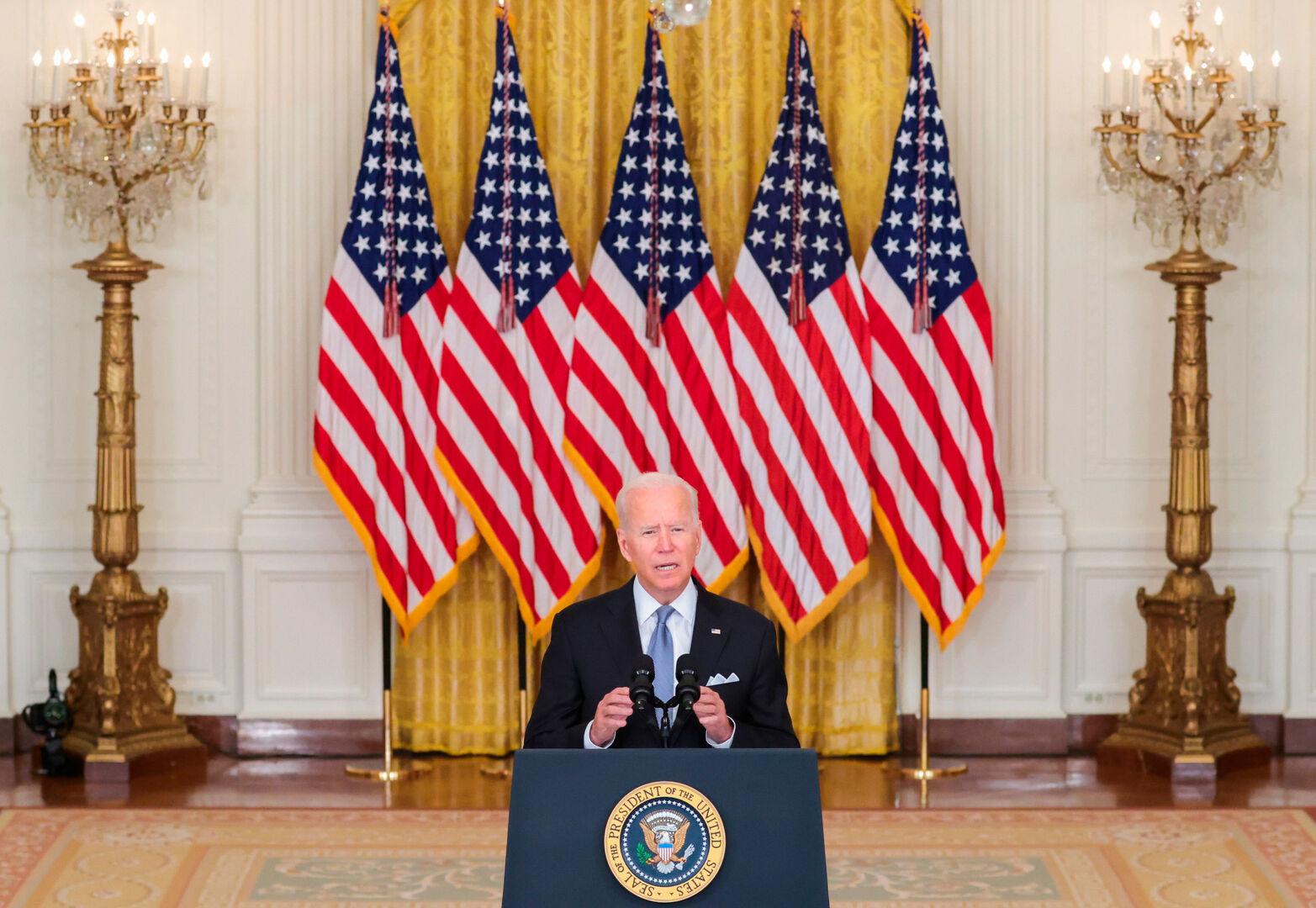 Biden se reivindica y anuncia la llegada de 6.000 soldados más para asegurar la retirada de EEUU y sus aliados - Libertad Digital