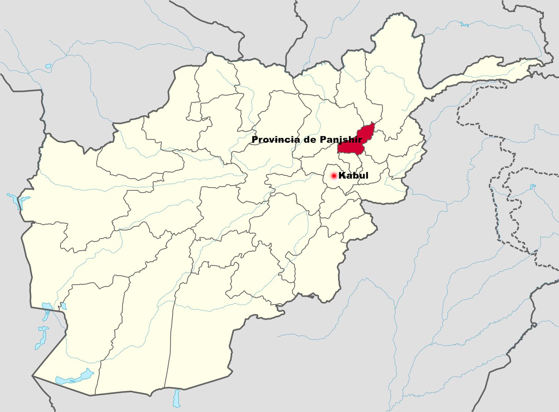 """El ex vicepresidente afgano y un señor de la guerra lanzan la """"Resistencia""""  antitalibán en el valle de Panjshir - Libertad Digital"""