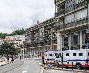 Las imágenes del acto de Voces contra el terrorismo en Mondragón