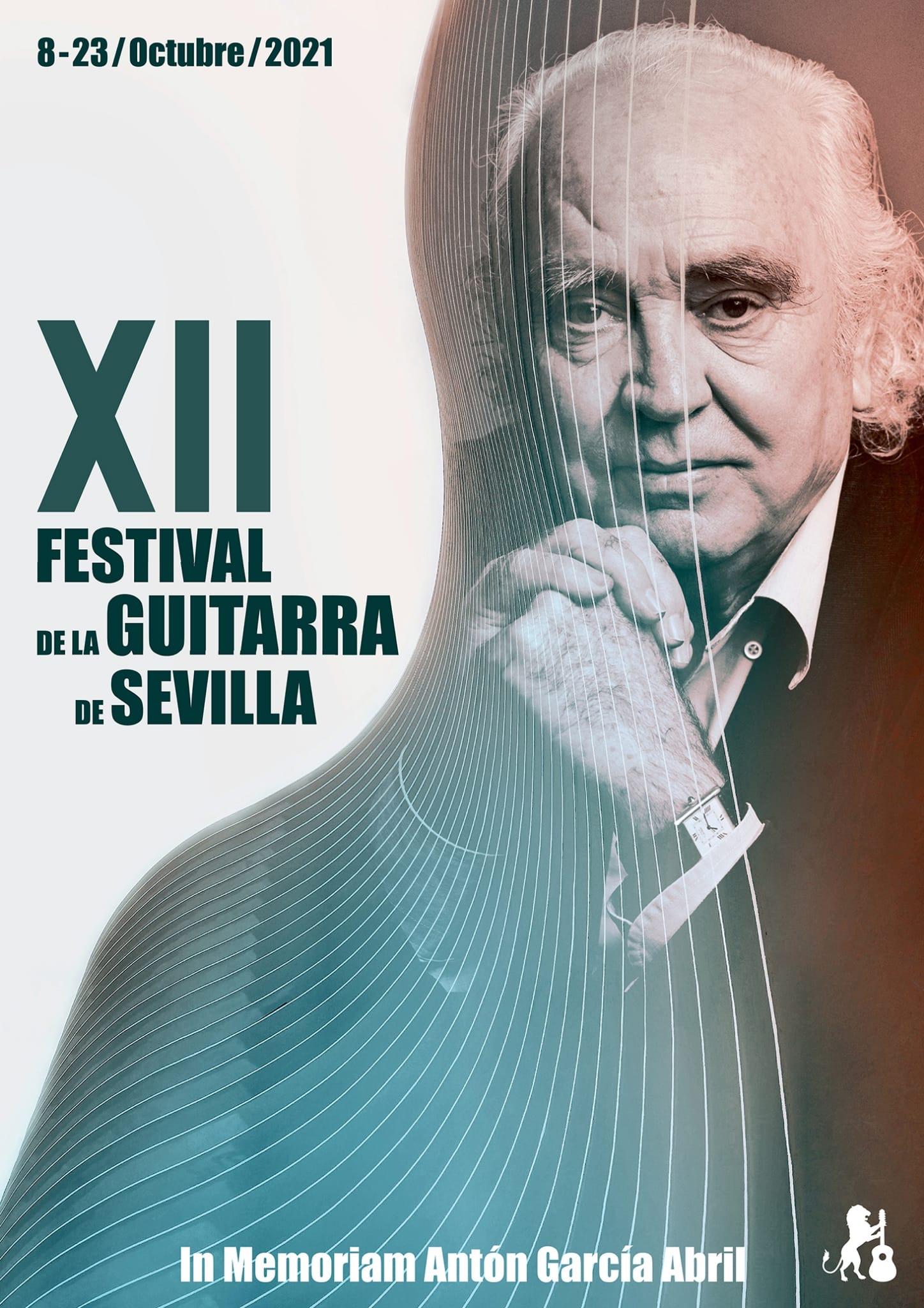Cartel 12º Edición Festival de la Guitarra de Sevilla