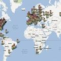 Ciudades con el servicio de tráfico de Google Maps. | Google