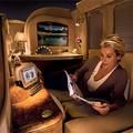 Una imagen de la lujosa Primera de Emirates