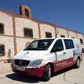 Uno de los vehículos en los que se realizan las rutas | Grupo Matarromera