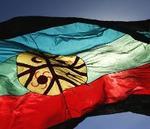 Bandera mapuche.