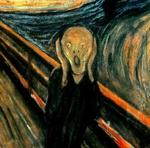 Edvard Munch: EL GRITO (detalle).