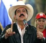 Mel Zelaya, ex presidente de Honduras.