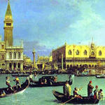 El día de la Ascensión de 1732 en Venecia por el Canaletto
