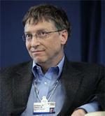 Bill Gates en Davos en 2007 | Severin Nowacki-cc-by-sa-2.0