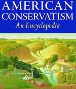 Detalle de la portada de AMERICAN CONSERVATISM.