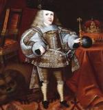 Carlos II, cuando era niño.