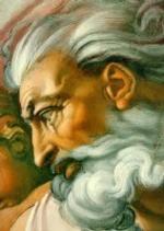 Detalle de LA CREACIÓN, de Miguel Ángel.