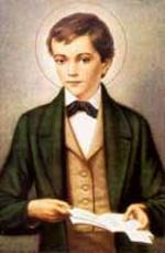 Santo Domingo Savio, patrono de los coros de niños