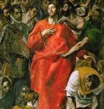 El Greco: EL EXPOLIO (detalle).
