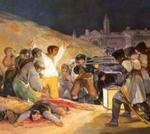 Francisco de Goya: LOS FUSILAMIENTOS DEL 2 DE MAYO.