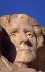 La efigie de Thomas Jefferson, tallada en el Monte Rushmore.