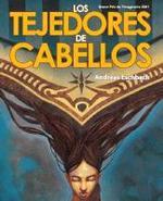 Detalle de la portada de LOS TEJEDORES DE CABELLOS.