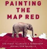 Detalle de la portada de PAINTING THE MAP RED.