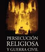 Detalle de la portada de PERSECUCIÓN RELIGIOSA Y GUERRA CIVIL.