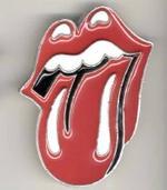 El emblema de los Rolling Stones.