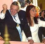 Néstor y Cristina Kirchner, en una imagen de archivo.