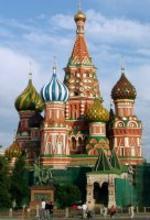Vista de la catedral de San Basilio (Moscú).