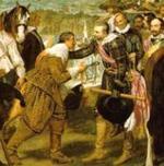 D. de Velázquez: LA RENDICIÓN DE BREDA (detalle).