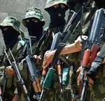 Terroristas de Hamas.