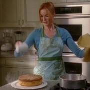 Bree cocina en Mujeres desesperadas