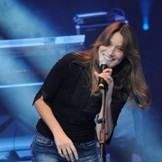 Carla Bruni, durante el concierto   Cordon Press