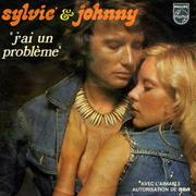 Johnny Hallyday y Sylvie Vartain
