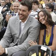 Marc Gasol y Cristina Blesa | Efe