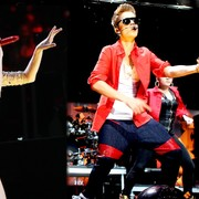 Taylor Swift y Justin Bieber, en la gala de los Jingle Ball en Nueva York | Cordon Press