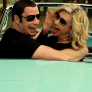 John Travolta y Olivia Newton John