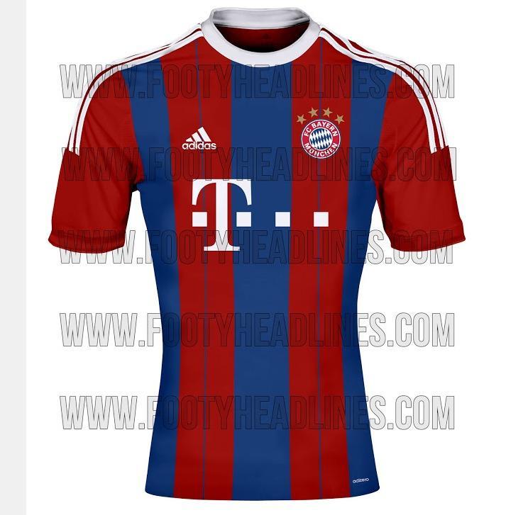 fceab2214c8 Uniforme del Bayern para la temporada 2014/15. | footyheadlines.com