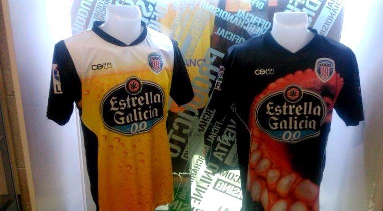 El Lugo luce las camisetas más originales del fútbol español ... 61c30646fa7cb