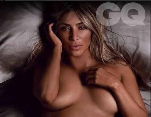 Kim Kardashian Posa Totalmente Desnuda Para La Revista Gq Chic