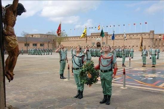 La II Bandera de la Legión se disuelve tras 87 años de ...