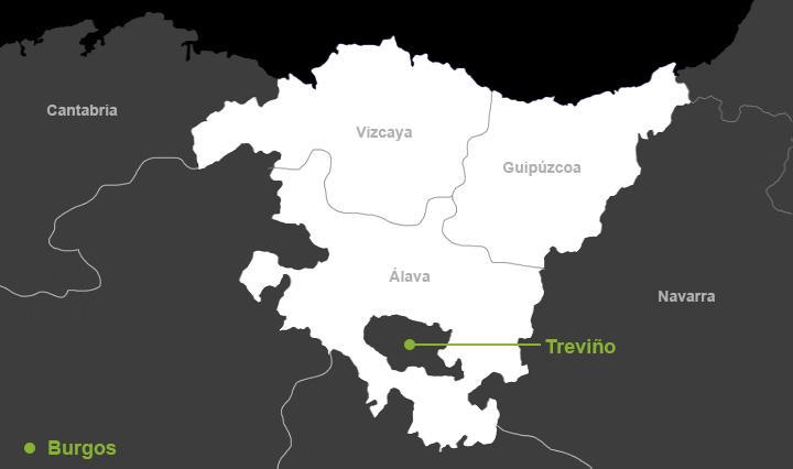 Condado De Treviño Mapa.El Condado De Trevino Un Viejo Objeto De Deseo Del