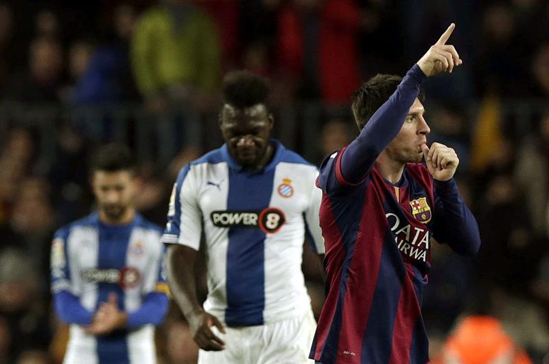 Un hat-trick de Messi sentencia el derbi ante el Espanyol- Libertad ... a210534ff76