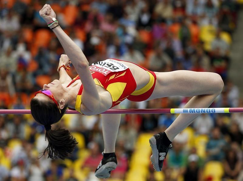 Ruth Beitia, medalla de bronce en salto de altura en el