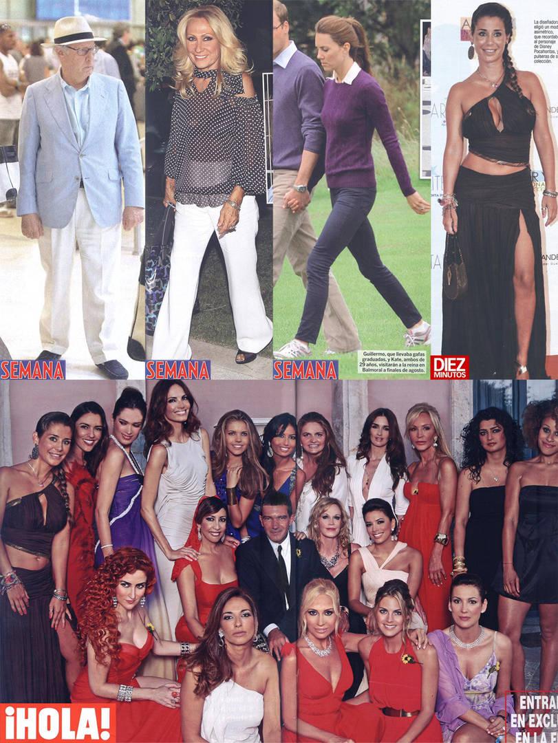 La Fiesta Playboy De Antonio Banderas Y El Disfraz De Esclava De