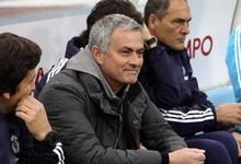 Mourinho durante un partido del Madrid