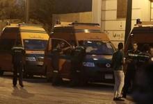 Ambulancias en la plaza de Tahrir este viernes | EFE