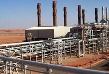 La planta de gas en el desierto   Archivo