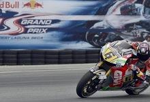 Stefan Bradl rueda con su Honda en el circuito de Laguna Seca. | EFE