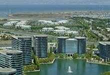 Imagen de la sede central de Oracle, en Redwood City, California. | Corbis