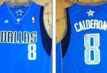 Camiseta de José Manuel Calderón en los Dallas Mavericks