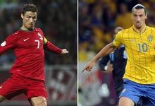 La Portugal de Cristiano Ronaldo, contra la Suecia de Ibrahimovic en la repesca. | Archivo