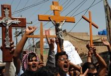 Cristianos paquistaníes protestan en Lahore | Cordon Press