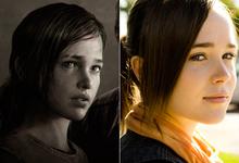 Ellen Page, en el videojuego The last of us